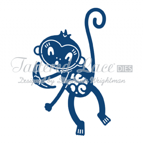Tattered Lace Die Monkey - D753